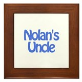 Nolan's Uncle Framed Tile
