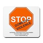 "Toledo NOW ""Stop Domestic Violence"" Mousepad"