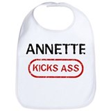 ANNETTE kicks ass Bib