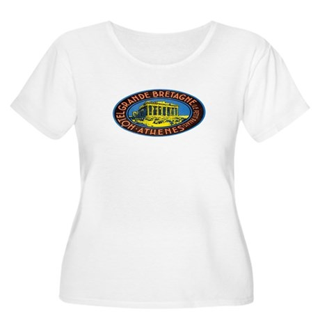 Athens Greece Women's Plus Size Scoop Neck T-Shirt