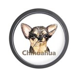 Chihuahua Black & Tan Wall Clock
