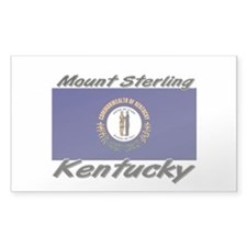 Mount Sterling Kentucky Rectangle Decal