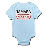 TAMARA kicks ass Infant Bodysuit