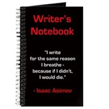 &quot;Isaac Asimov&quot; - Writer's Notebook