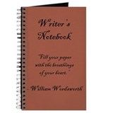 &quot;William Wordsworth&quot; - Writer's Notebook