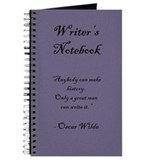 """Oscar Wilde"" - Writer's Notebook"