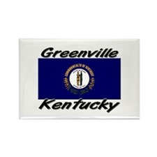 Greenville Kentucky Rectangle Magnet