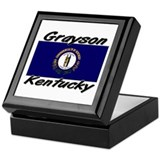 Grayson Kentucky Keepsake Box
