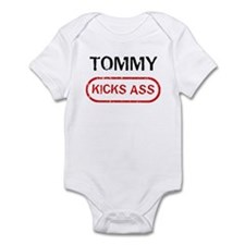 TOMMY kicks ass Infant Bodysuit