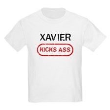 XAVIER kicks ass T-Shirt