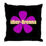 Cool Brenna Throw Pillow
