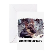 HAPPY BIRTHDAY GERMAN SHEPARD LOOK Greeting Card