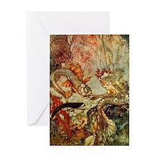 Dulac Mer-King Greeting Card