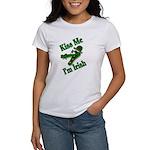 Kiss Me I'm Irish Women's T-Shirt