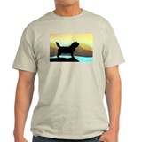 Petit Basset By The Sea T-Shirt