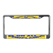 Complaints Deadline -  License Plate Frame