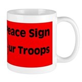MY Peace Sign..... Mug
