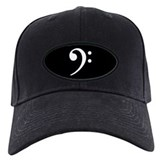 Bass Clef Baseball Hat