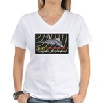 F-117 Stealth Tonopah Women's V-Neck T-Shirt
