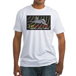 F-117 Stealth Tonopah Fitted T-Shirt