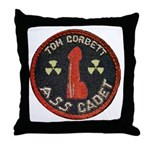 Tom Corbett Ass Cadet Patch - Throw Pillow