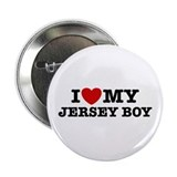 I Love My Jersey Boy Button