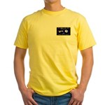 Tom Corbett Ass Cadet Sputnik Yellow T-Shirt