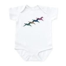 4 Horses Infant Bodysuit