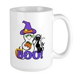 Halloween Ghost Large Mug
