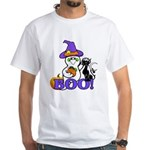 Halloween Ghost White T-Shirt