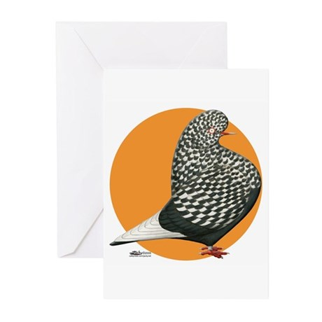 Orange Teager Flight Greeting Cards (Pk of 10)