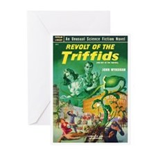 "Greeting (10)-""Revolt of the Triffids"""