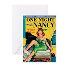 """Greeting (10)-""""One Night with Nancy"""""""