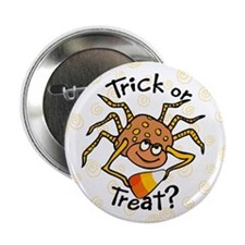 "Candy Corn Spider 2.25"" Button (100 pack)"