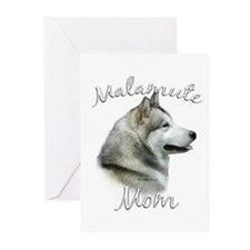 Malamute Mom2 Greeting Cards (Pk of 20)