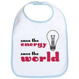 Save the World Bib