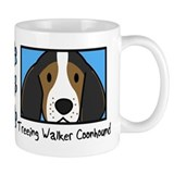 Anime Treeing Walker Coonhound Small Mugs