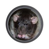 Silly Rat Wall Clock