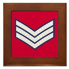 British Sergeant<BR> Framed Tile