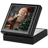 Piebrand Father Christmas Keepsake Box.