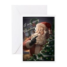 Piebrand Santa Claus Greeting Card