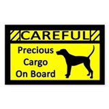 Precious Cargo Treeing Walker Coonhound Decal