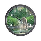 Buck Reflection Wall Clock