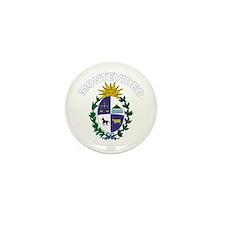 Montevideo, Uruguay Mini Button (10 pack)