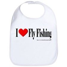 I Heart Fly Fishing Bib
