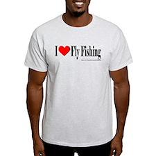 I Heart Fly Fishing T-Shirt