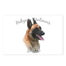 Malinois Dad2 Postcards (Package of 8)