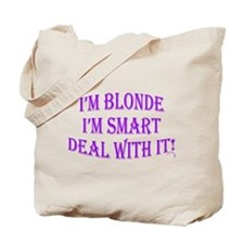 Cool Blonde girl Tote Bag