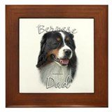 Berner Dad2 Framed Tile