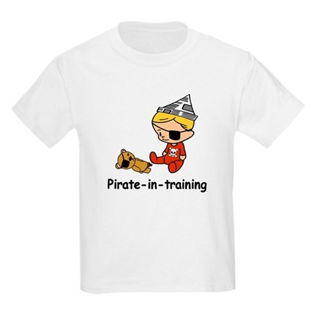 Pirate-in-training Kids Light T-Shirt